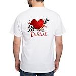 Dartist White T-Shirt