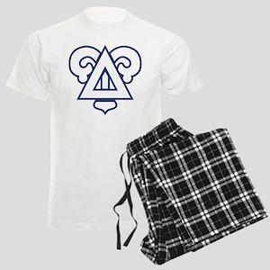 Delta Upsilon Badge Men's Light Pajamas