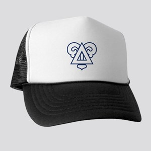 Delta Upsilon Badge Trucker Hat
