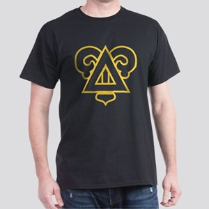 Delta Upsilon Badge Dark T-Shirt
