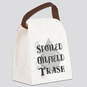Spoiled Oilfield Canvas Lunch Bag