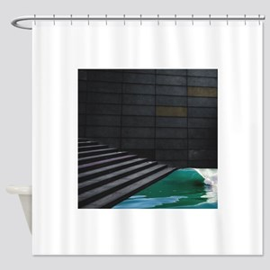 Surf n Stairs Shower Curtain