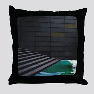Surf n Stairs Throw Pillow
