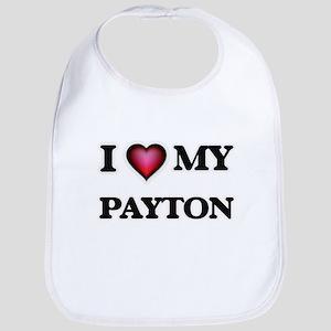 I love Payton Baby Bib