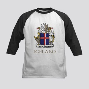 Coat of Arms of Iceland Baseball Jersey