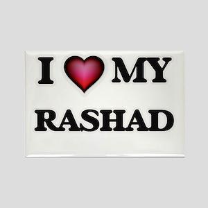 I love Rashad Magnets