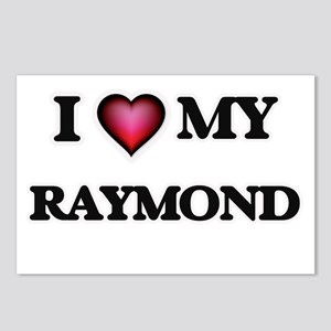 I love Raymond Postcards (Package of 8)