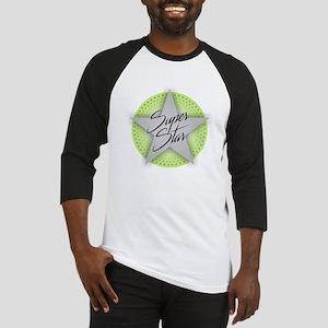 Superstar - Green Baseball Jersey
