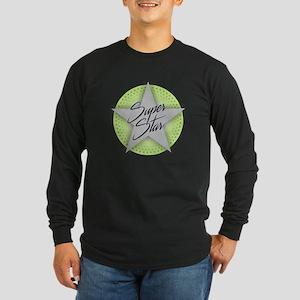 Superstar - Green Long Sleeve T-Shirt