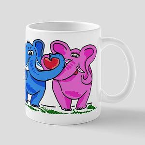 Elelphant Twins Mug