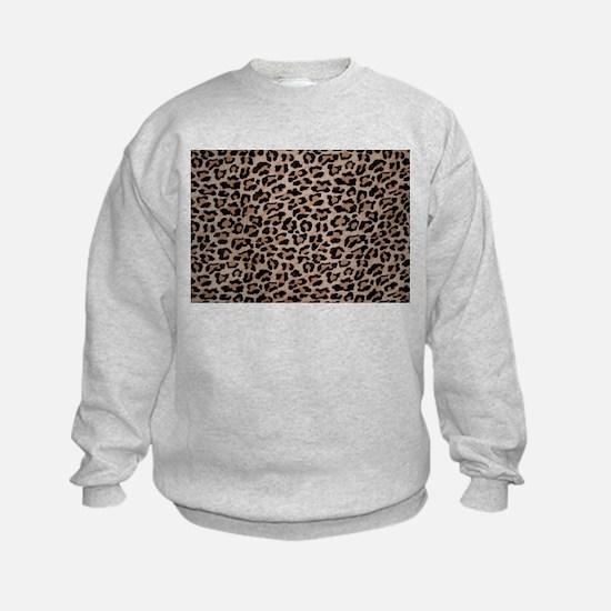 cheetah leopard print Sweatshirt