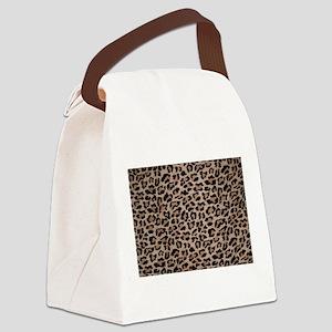 cheetah leopard print Canvas Lunch Bag