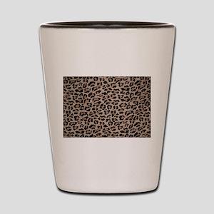 cheetah leopard print Shot Glass