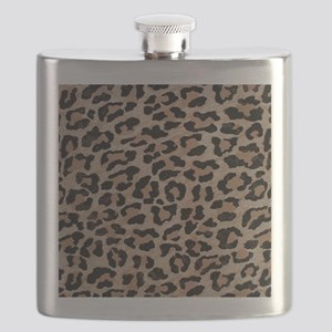 cheetah leopard print Flask