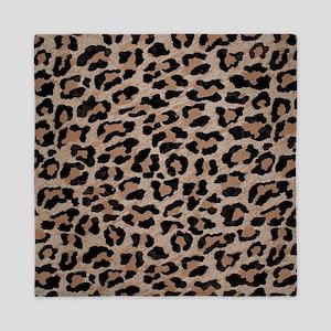 cheetah leopard print Queen Duvet