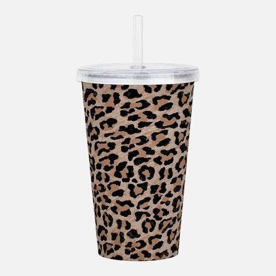 cheetah leopard print Acrylic Double-wall Tumbler