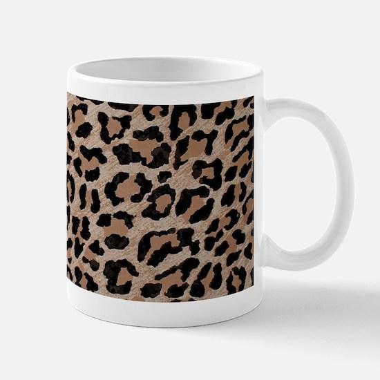 cheetah leopard print Mugs