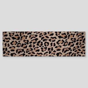 cheetah leopard print Bumper Sticker