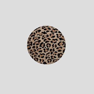 cheetah leopard print Mini Button