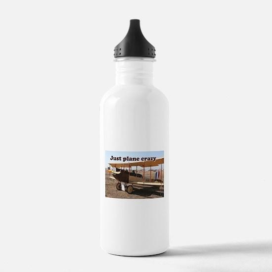 Just plane crazy: Curt Water Bottle