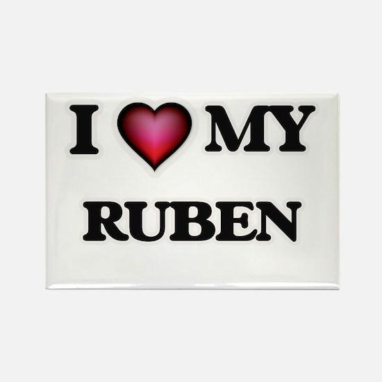 I love Ruben Magnets