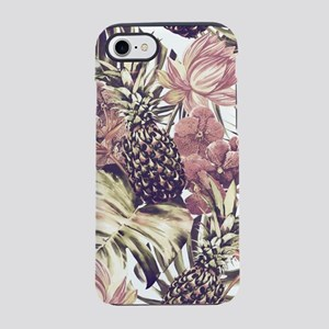 Tropical Pineapples iPhone 8/7 Tough Case