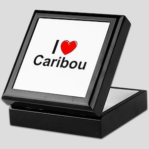 Caribou Keepsake Box