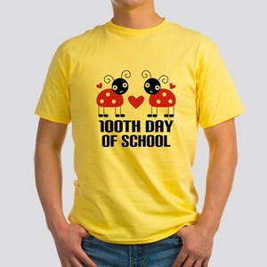 red ladybugs 100th Day of school T-Shirt