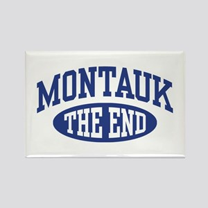 Montauk The End Rectangle Magnet