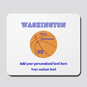 Basketball Personalized Mousepad