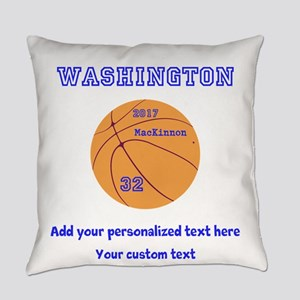 Basketball Personalized Everyday Pillow