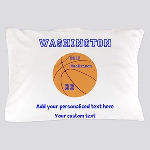 Basketball Personalized Pillow Case