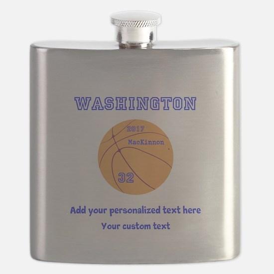 Basketball Personalized Flask
