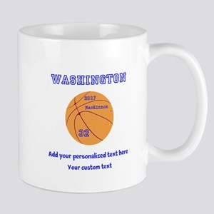 Basketball Personalized Mugs