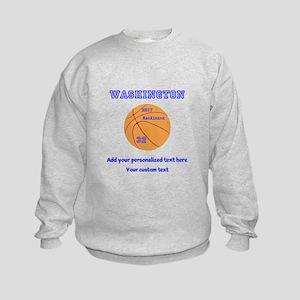 Basketball Personalized Sweatshirt