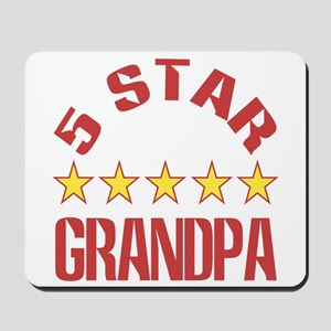Five Star Grandpa Mousepad