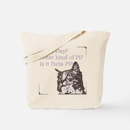 Pi Cat Tuna Tote Bag