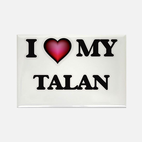 I love Talan Magnets