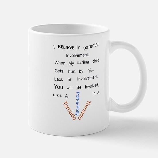 Parental involvement tornado3 Mugs