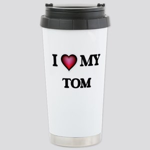 I love Tom Stainless Steel Travel Mug