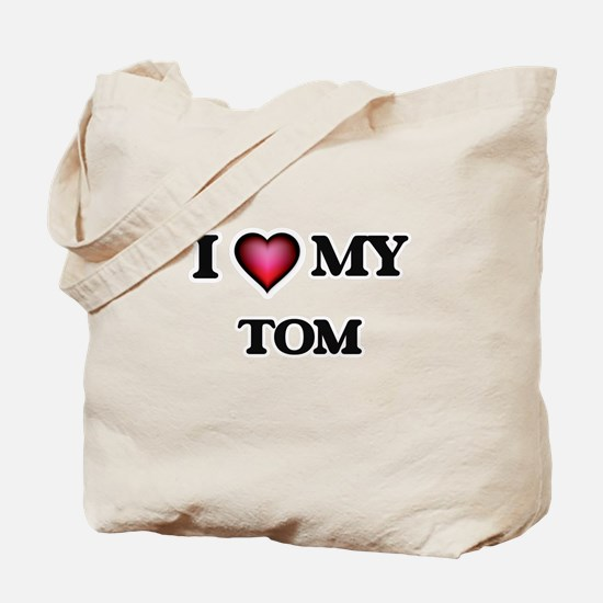 I love Tom Tote Bag