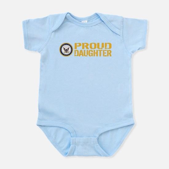 U.S. Navy: Proud Daughter Body Suit
