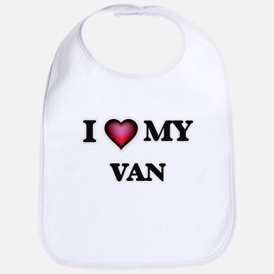 I love Van Baby Bib