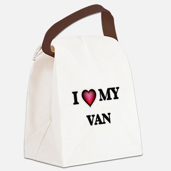 I love Van Canvas Lunch Bag