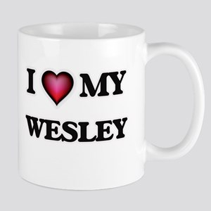 I love Wesley Mugs