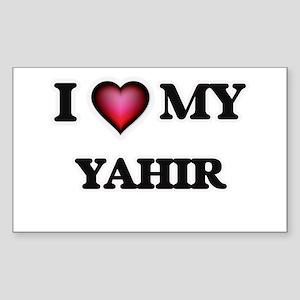 I love Yahir Sticker