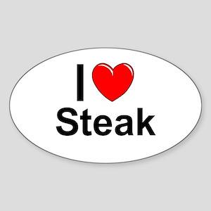 Steak Sticker (Oval)