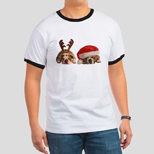 Funny Bulldog Christmas T-Shirt