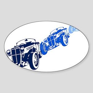 Vintage Car Sticker