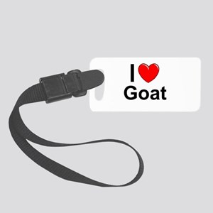 Goat Small Luggage Tag